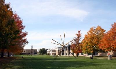 Jackson College Campus Fall